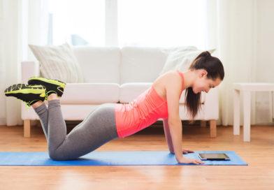 Sådan kommer du i gang med at træne derhjemme
