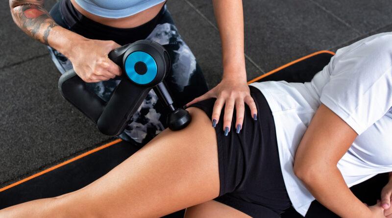 Massage med massagepistol