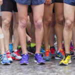 Løb marathon på den originale rute
