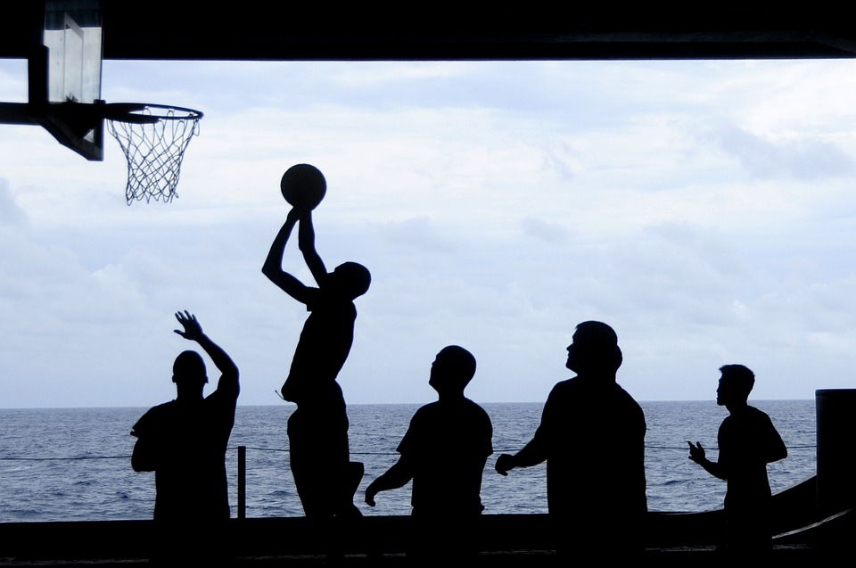 basketball silhuet